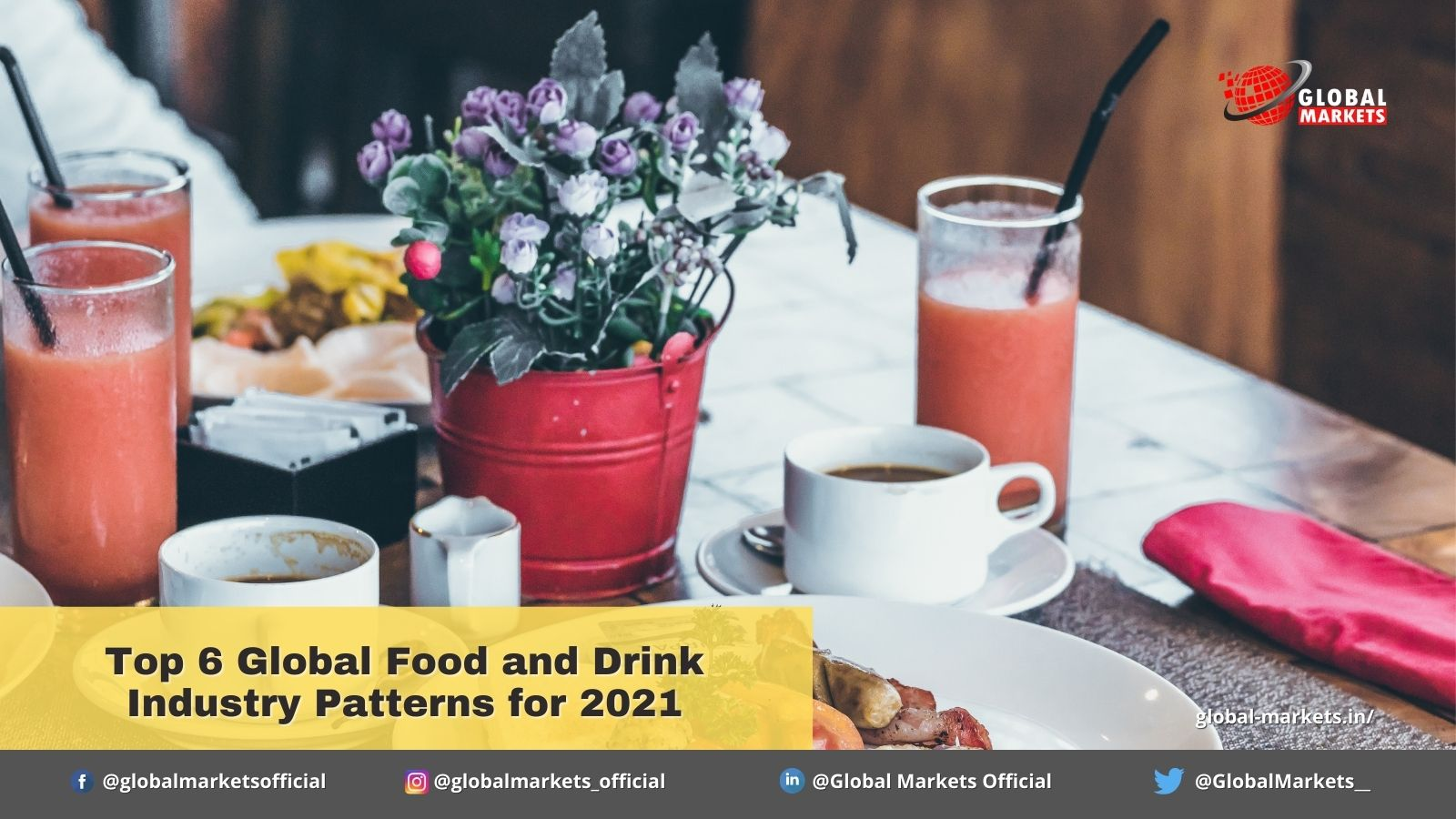 Top 6 Global Food and Drink Industry Patterns for 2021