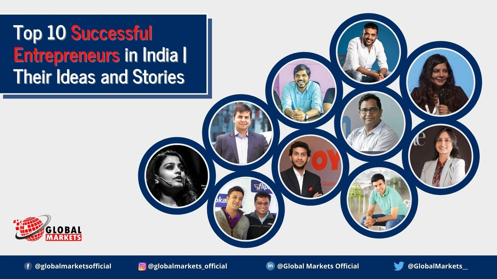Top 10 Successful Entrepreneurs in India | Their Ideas and Stories