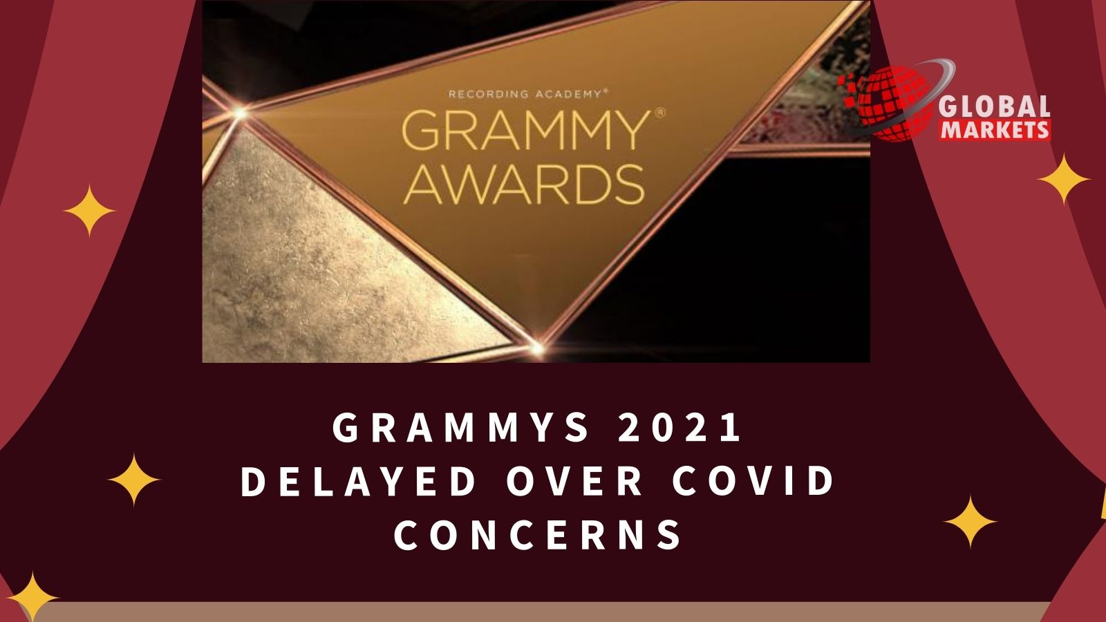 Grammys 2021 delayed over Covid concerns
