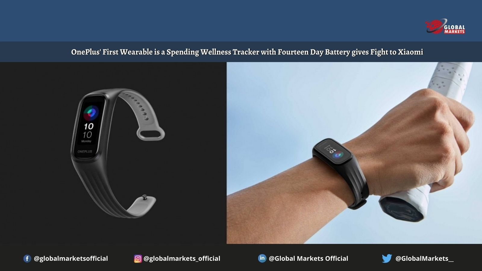 OnePlus' First Wearable is a Spending Wellness Tracker with Fourteen Day Battery