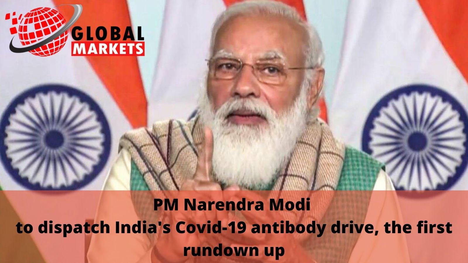 PM Narendra Modi to dispatch India's Covid-19 antibody drive, the first rundown up