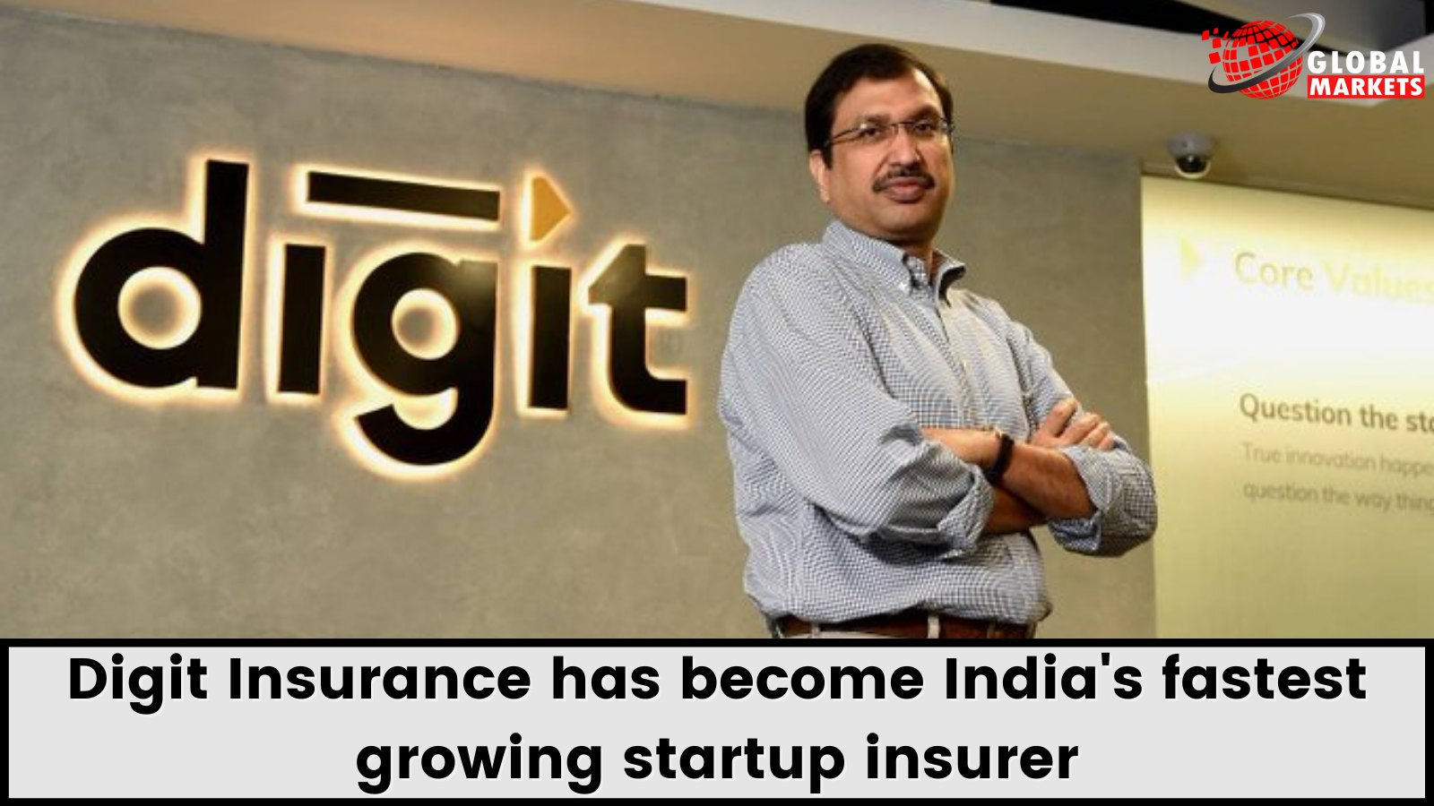 Digit Insurance has become fastest growing startup insurer in India
