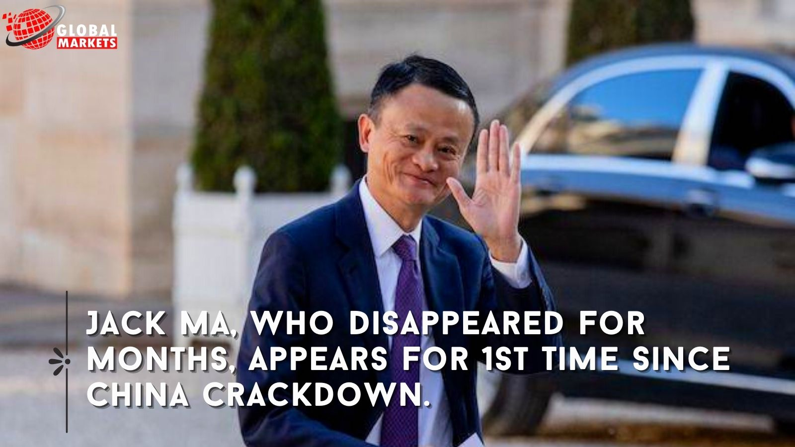 Jack Ma, Who Disappeared For Months, Appears For 1st Time Since China Crackdown.