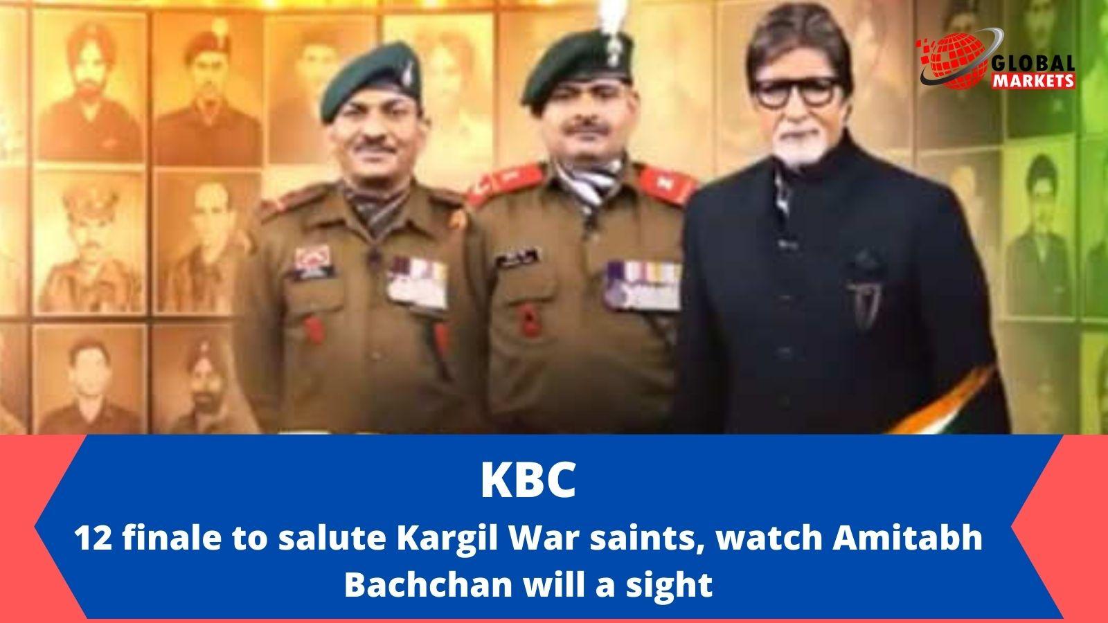 KBC 12 finale to salute Kargil War saints, watch Amitabh Bachchan will a sight.