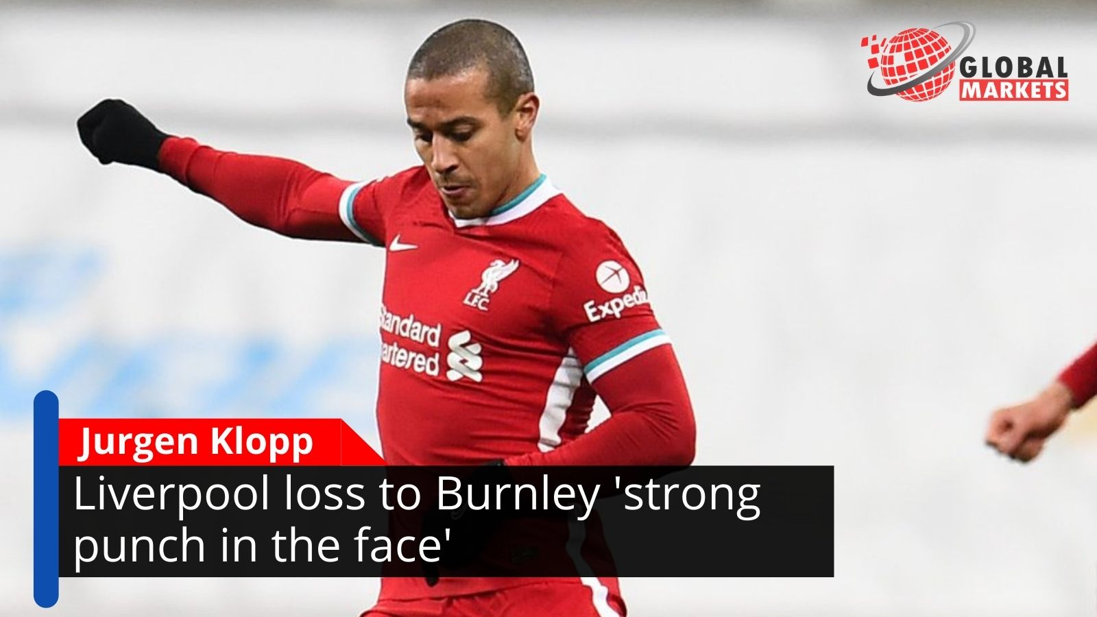 Jurgen Klopp: Liverpool loss to Burnley 'strong punch in the face'