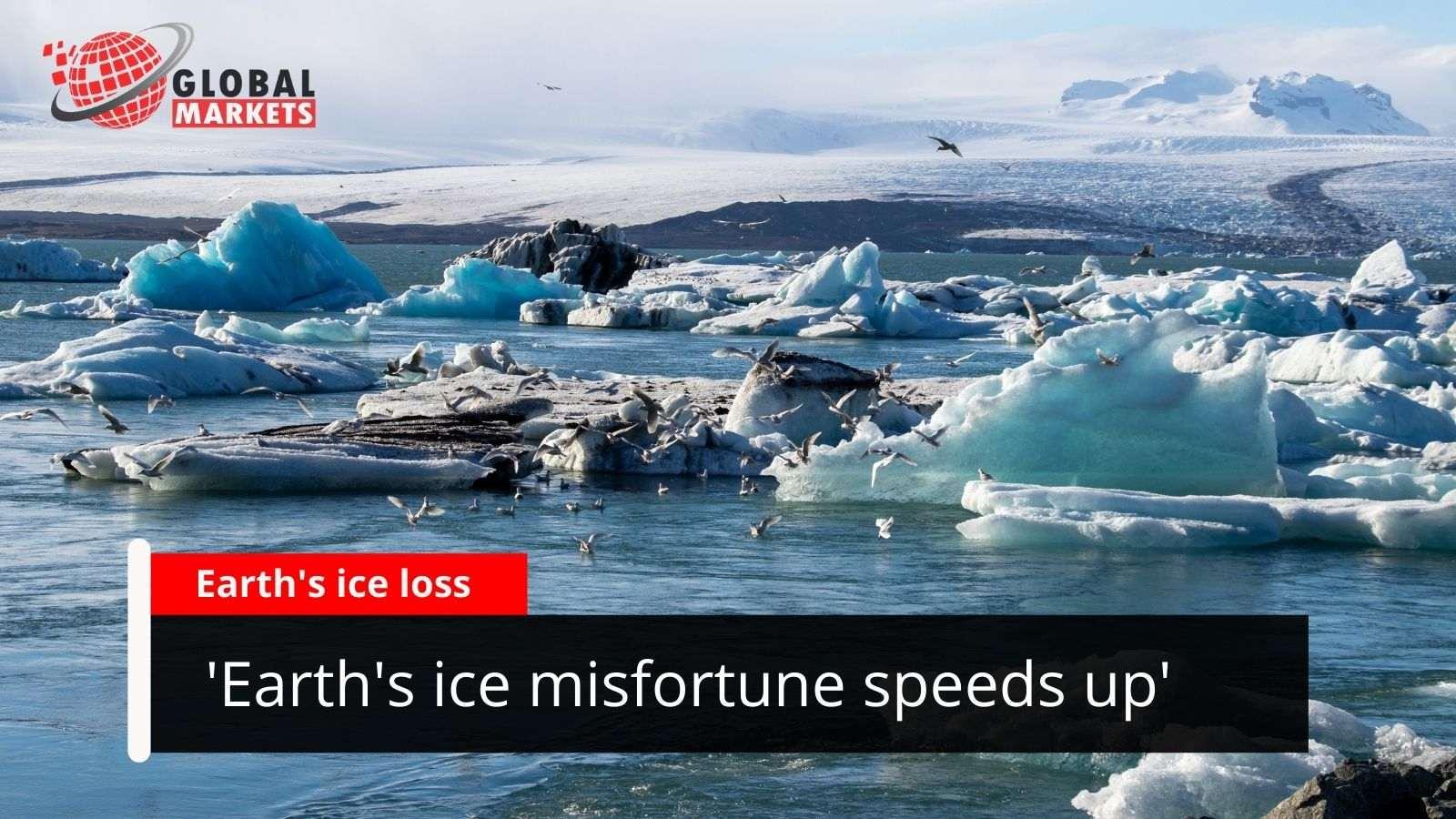 'Earth's ice misfortune speeds up'