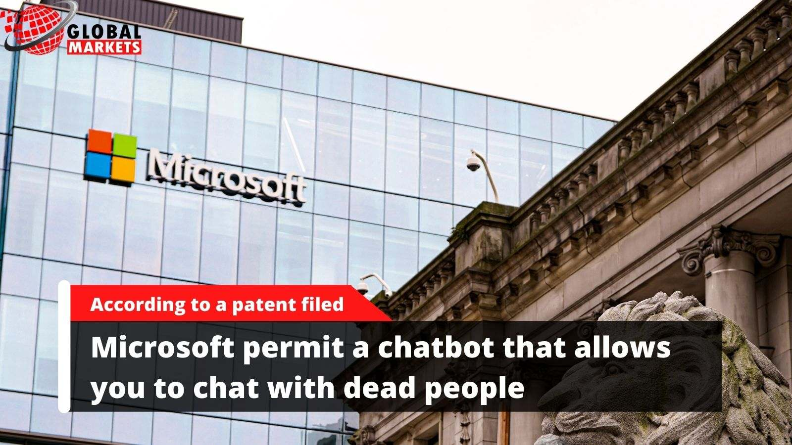 Microsoft permit a chatbot that allows you to chat with dead people