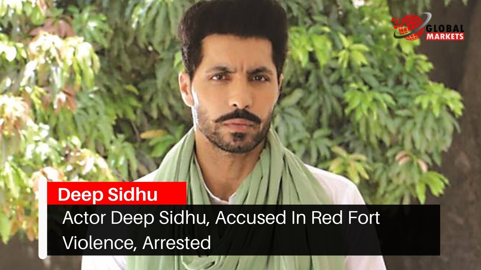 Actor Deep Sidhu, Accused In Red Fort Violence, Arrested