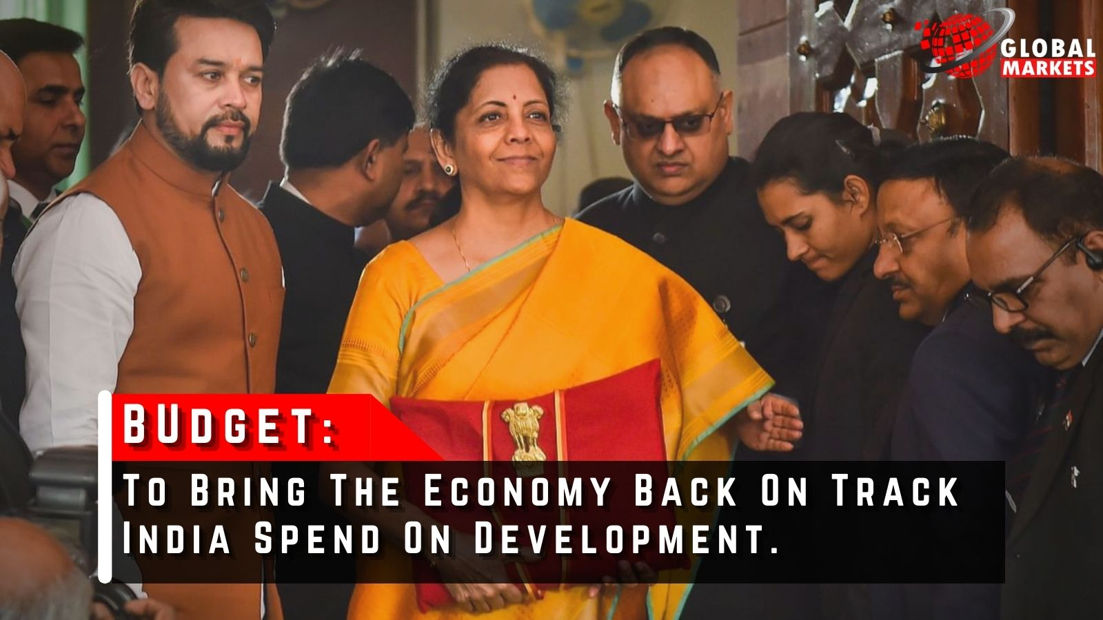 To Bring The Economy Back On Track India Spend On Development.