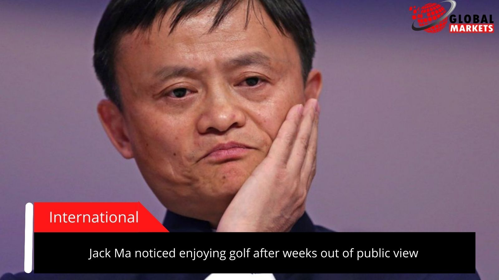 Jack Ma noticed enjoying golf after weeks out of public view