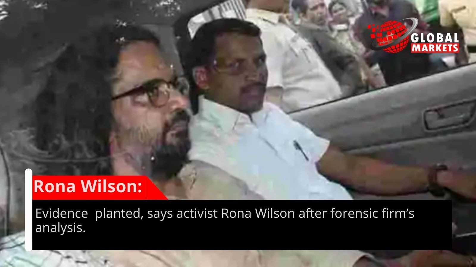 Proof planted, says dissident Rona Wilson after legal company's examination
