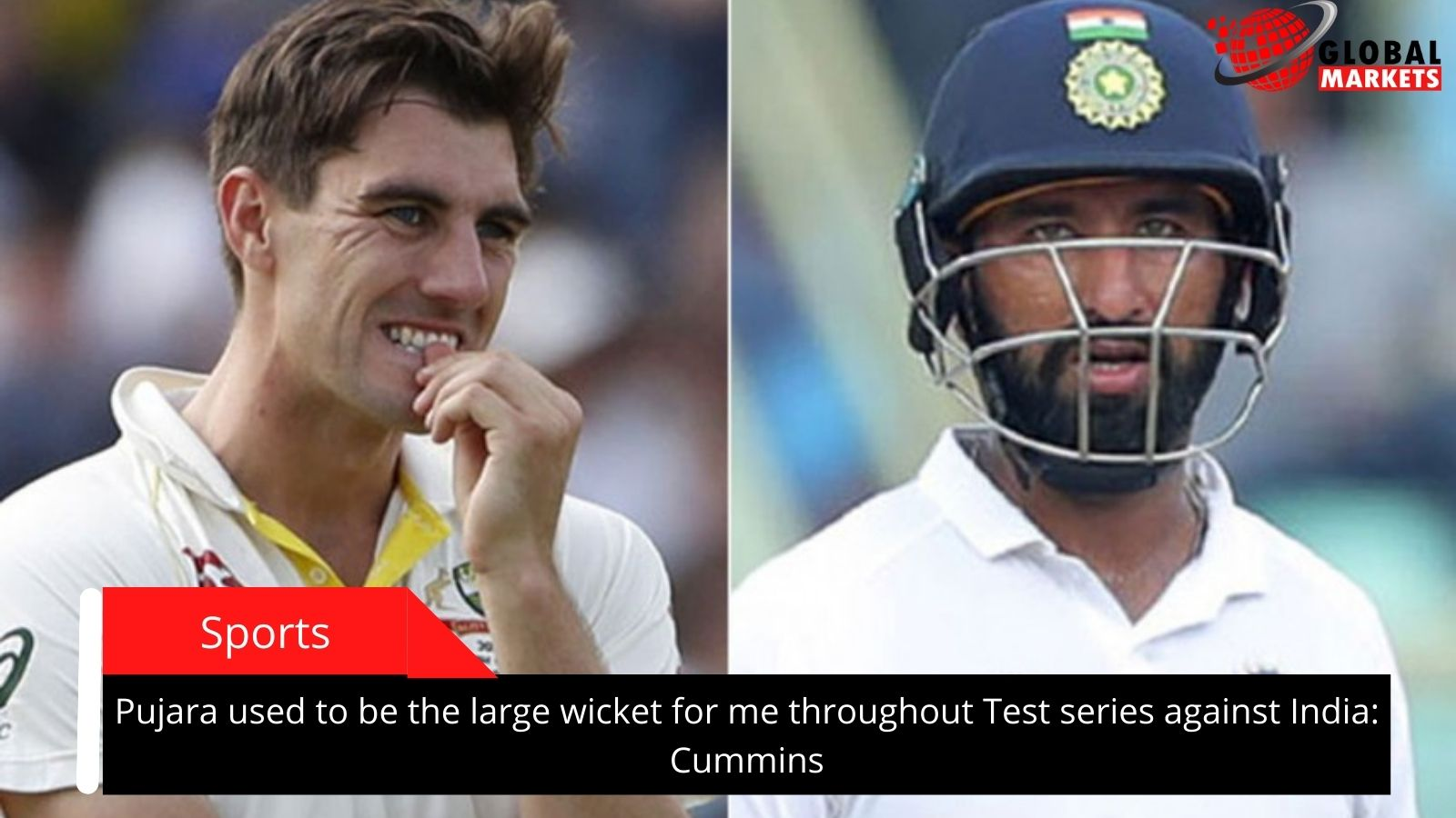 Pujara used to be the large wicket for me throughout Test series against India: Cummins