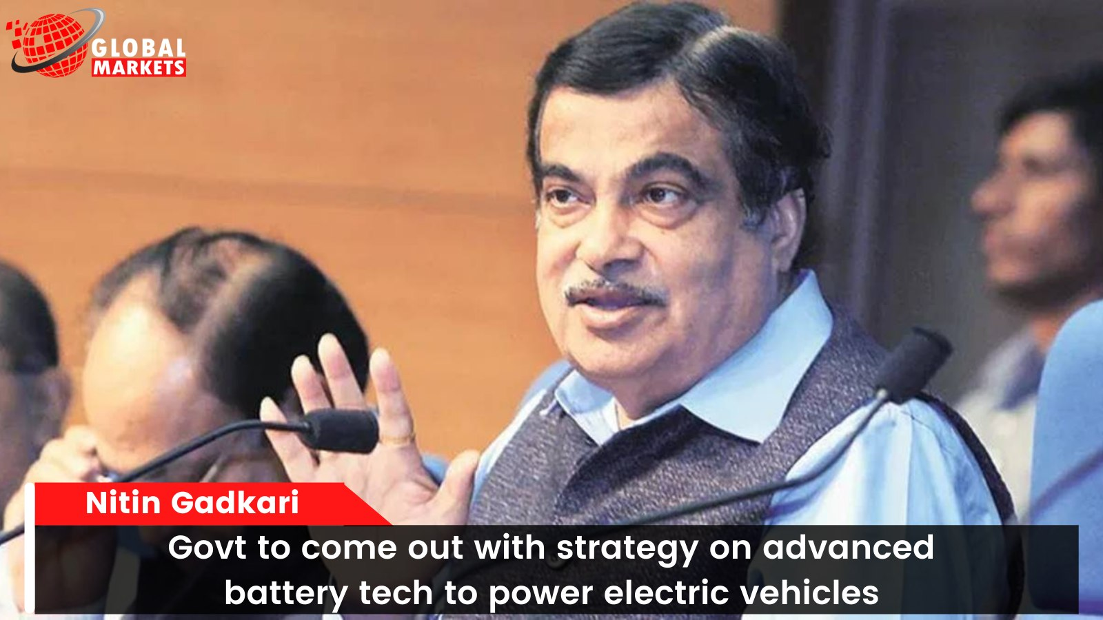 Govt to come out with strategy on advanced battery tech to power electric vehicles