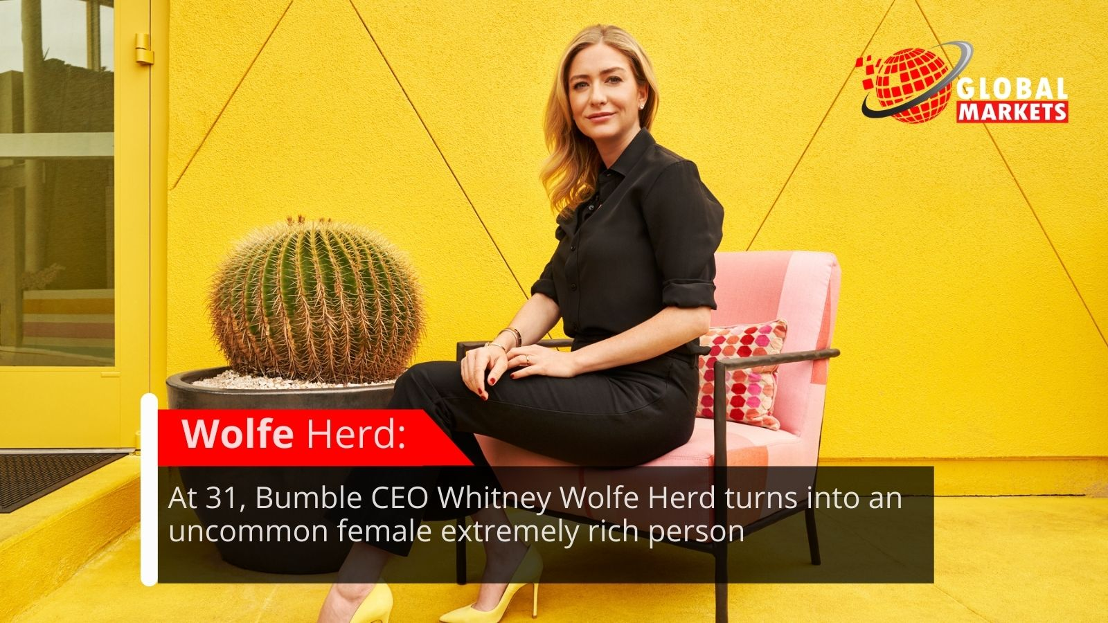 At 31, Bumble CEO Whitney Wolfe Herd turns into an uncommon female extremely rich person