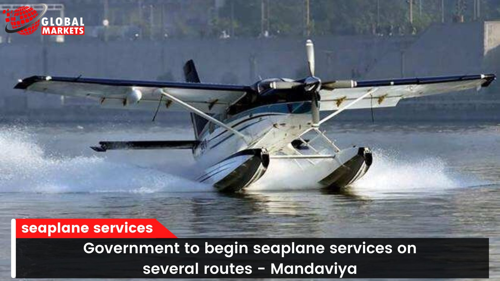 Government to begin seaplane services on several routes - Mandaviya