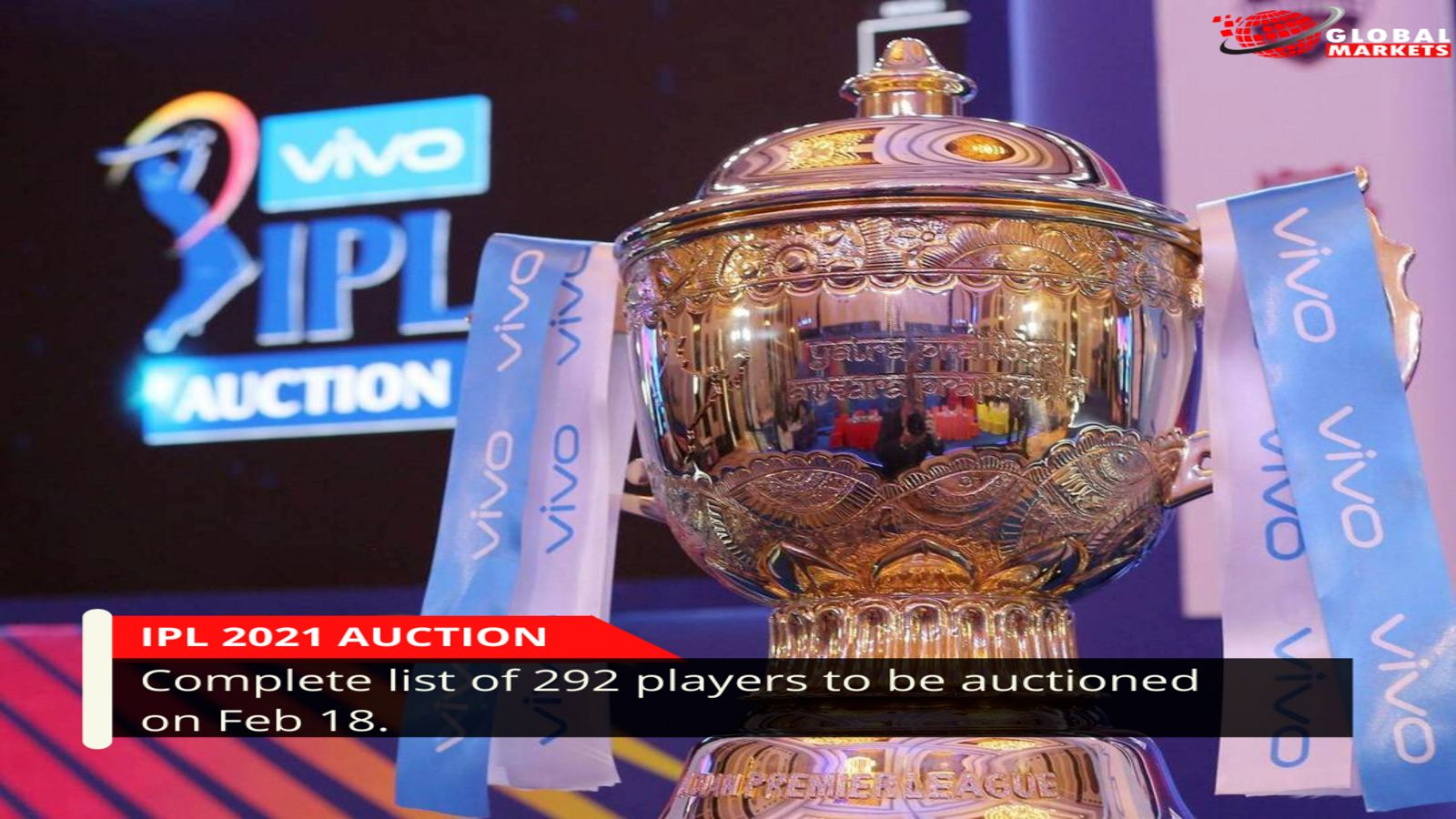 IPL 2021 auction: Complete list of 292 players to be auctioned on Feb 18.