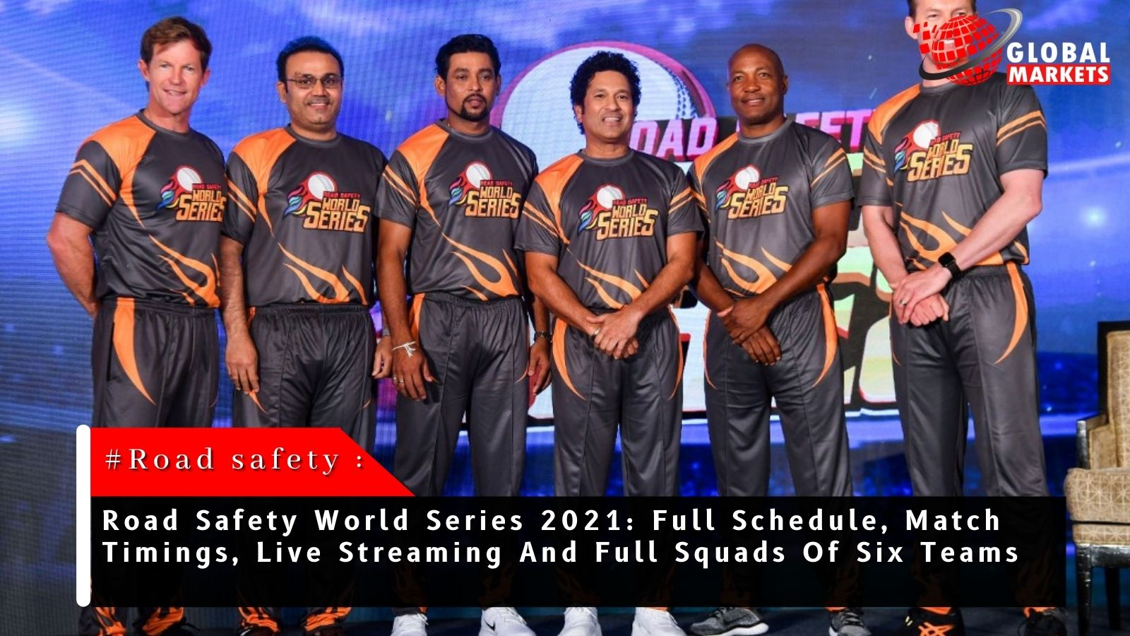 Road Safety World Series 2021: The legends back in action- All you need to know.