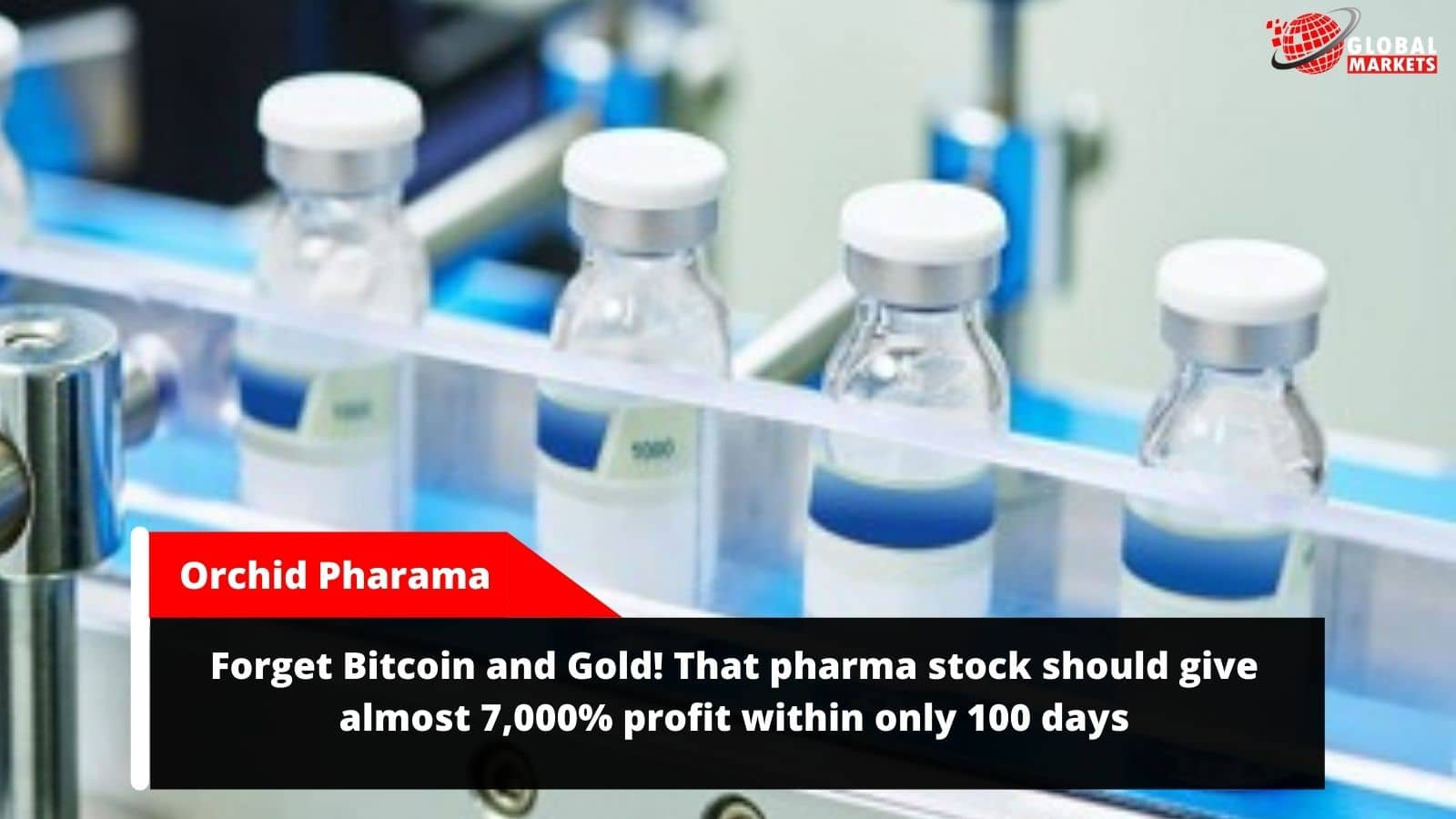 Forget Bitcoin and Gold! That pharma stock should give almost 7,000% profit within only 100 days
