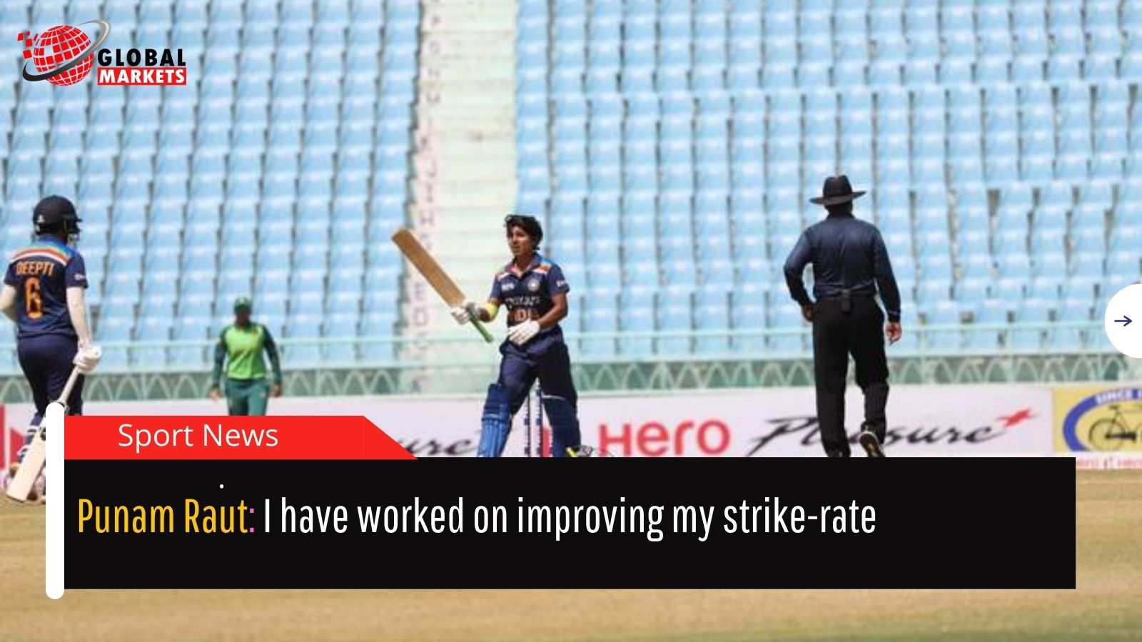 Punam Raut: I have worked on improving my strike-rate