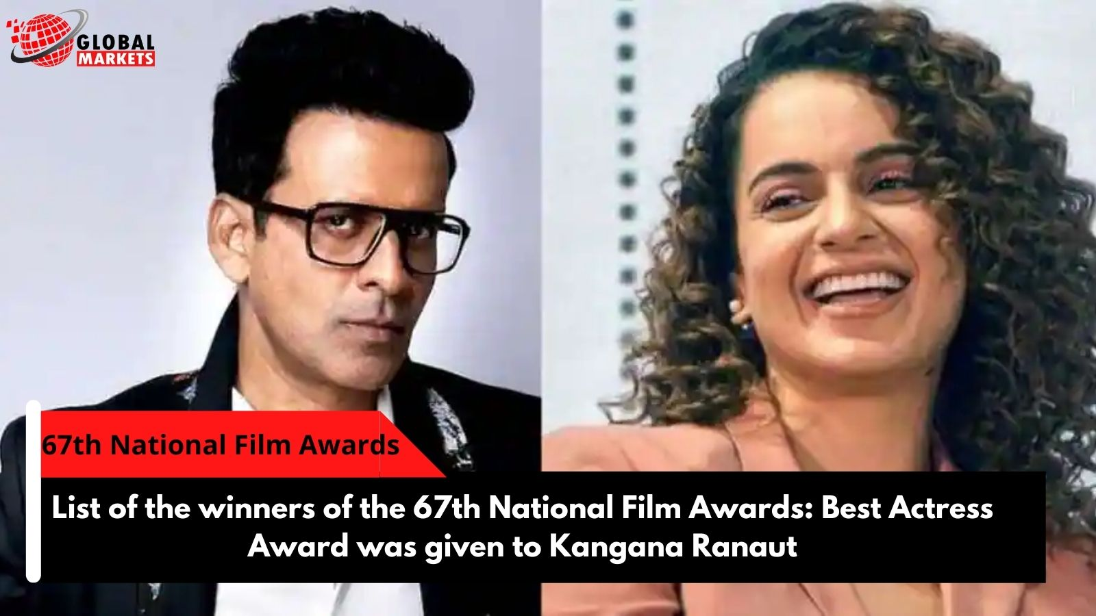 Complete list of the winners of the 67th National Film Awards: Best Actress Award was given to Kangana Ranaut