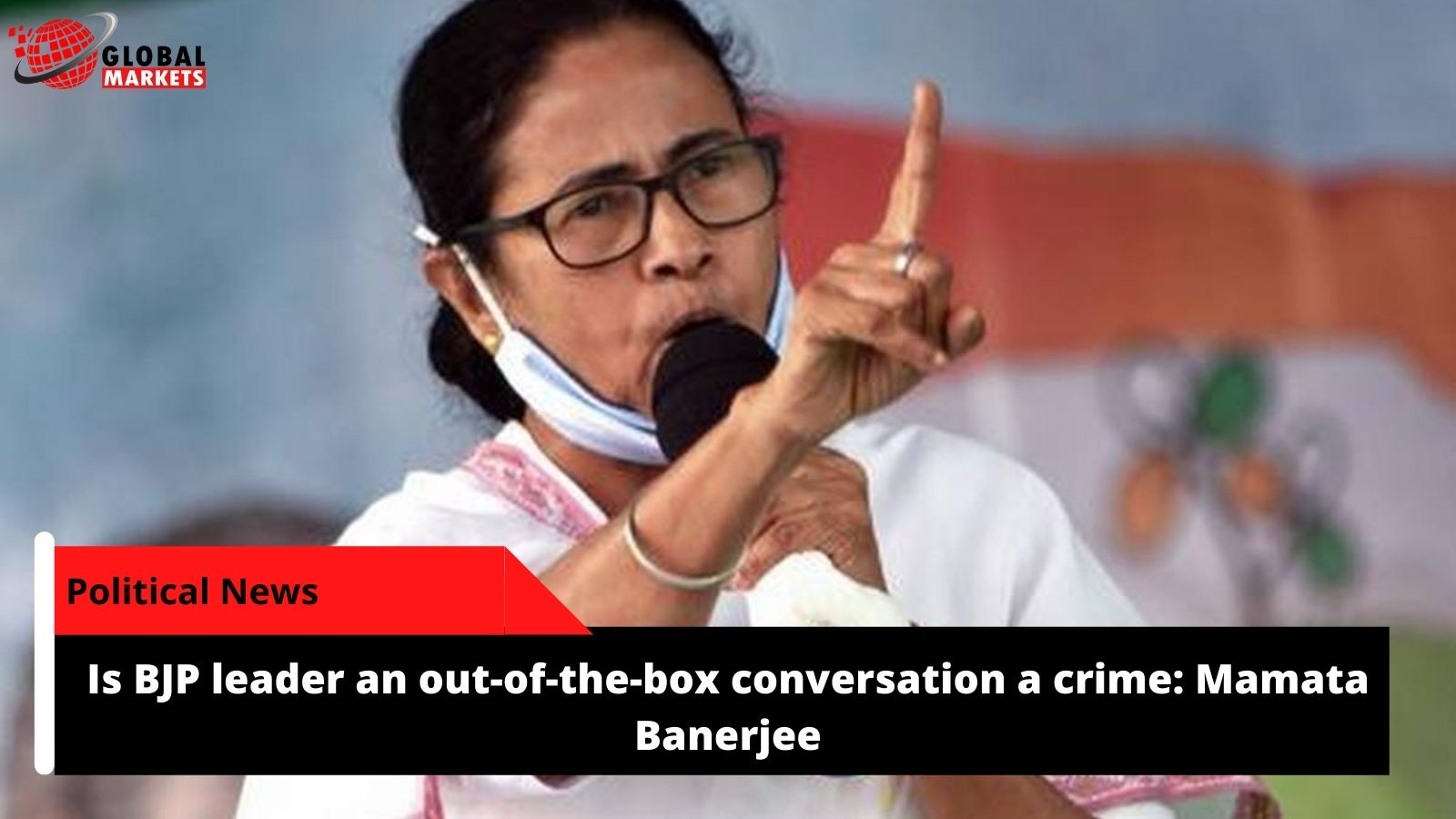 Is BJP leader an out-of-the-box conversation a crime: Mamata Banerjee