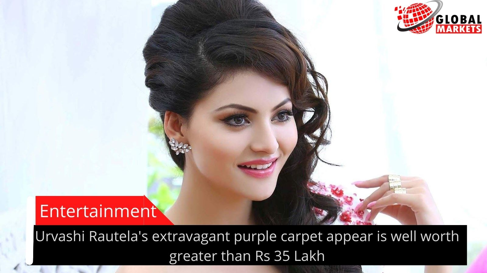 Urvashi Rautela's extravagant purple carpet appear is well worth greater than Rs 35 Lakh
