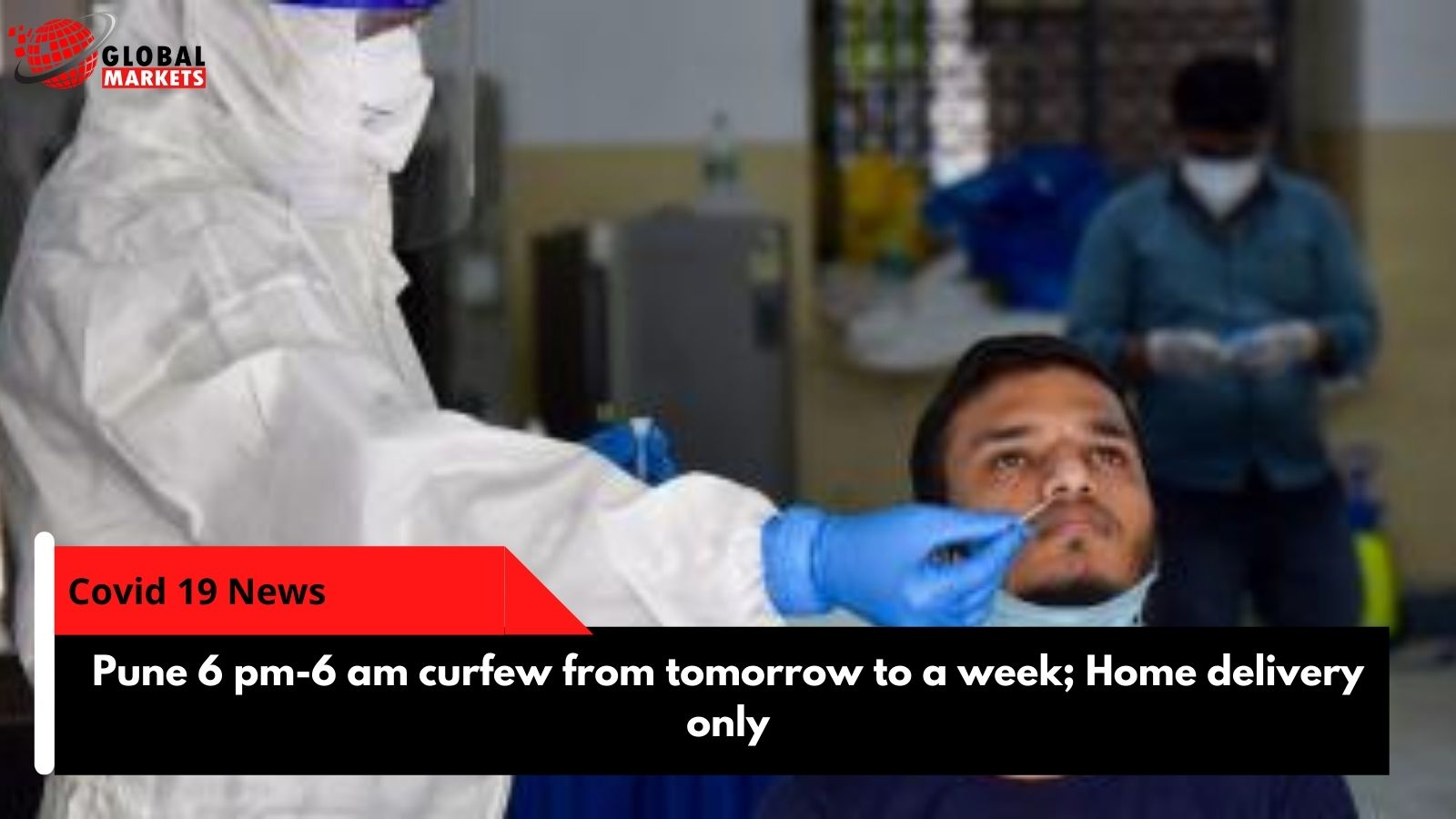Pune 6 pm-6am curfew from tomorrow to a week; Home delivery only
