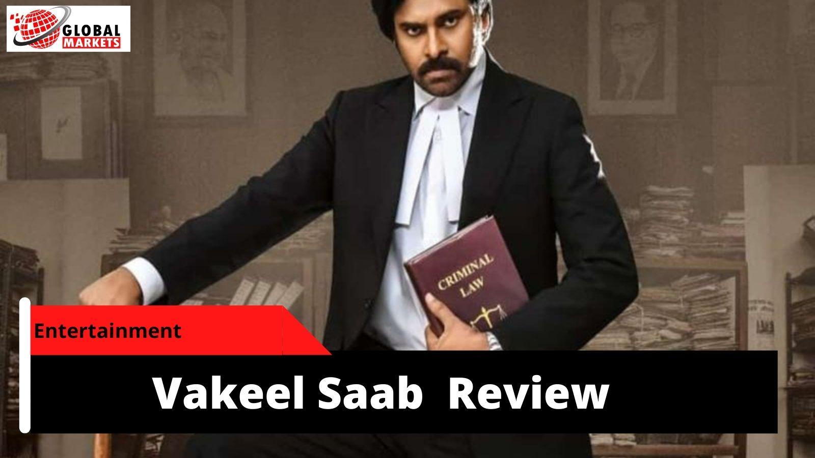 Pawan Kalyan Vakeel Saab Movie Review