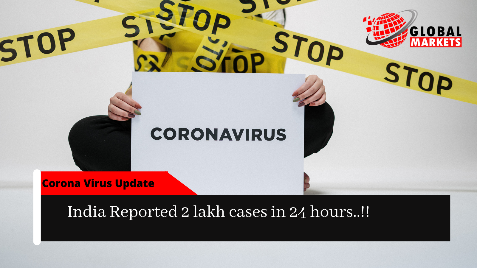 CORONA VIRUS UPDATE:India reported 2 lakh cases in 24 hrs