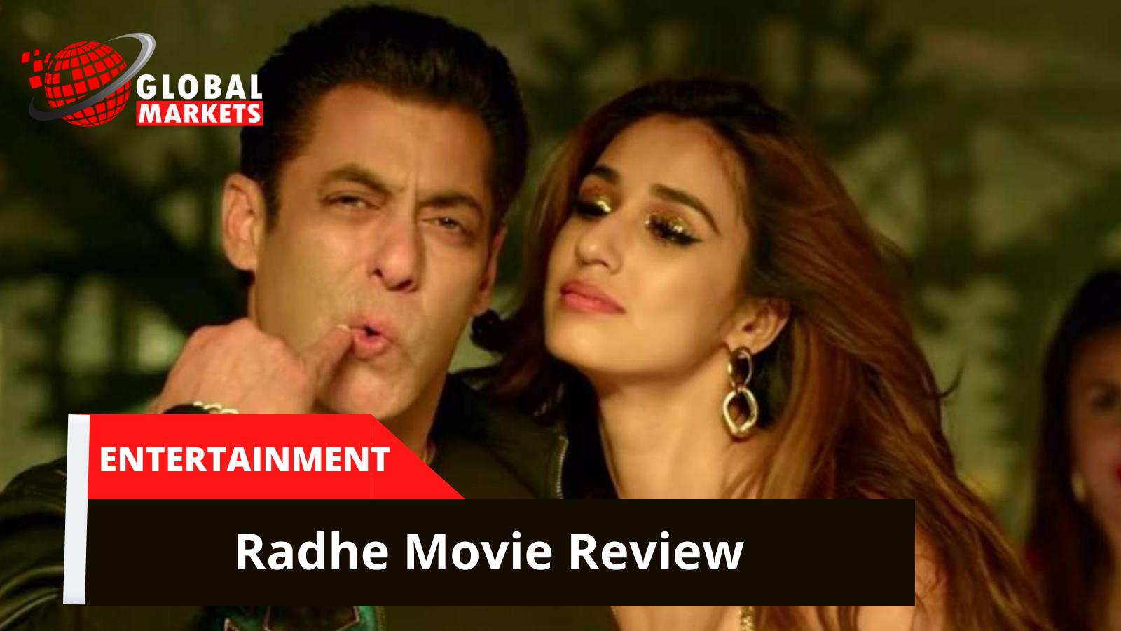 The film stars Salman Khan Radhe movie Review
